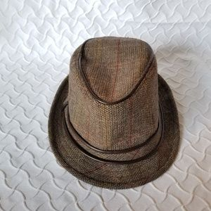 Target Brown Fedora Foldable Men's Hat OS
